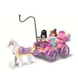 Sluban Dream Princess Carriage ( 99 Pieces)