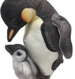 Texas Toy Distribution King Penguin with Baby