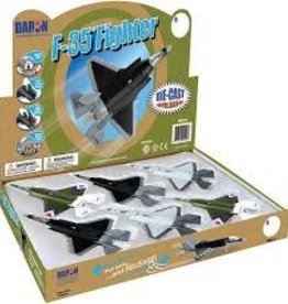 Daron World Wide Trading F 35 Fighter Plane (Single Assorted Colors)