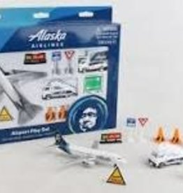 Daron World Wide Trading Alaska Airlines Airport Play Set