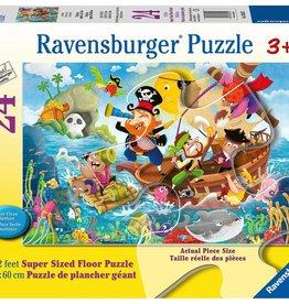 Ravensburger Land Ahoy! Floor Puzzle 24 pc
