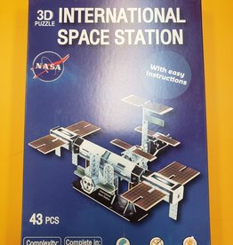 Texas Toy Distribution 3D Puzzle International Space Station