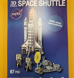 Texas Toy Distribution 3D Space Shuttle Puzzle 67 Pieces
