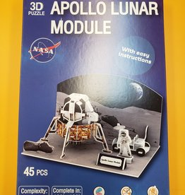 Texas Toy Distribution 3D Puzzle Apollo Lunar Module 45 Pieces