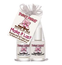 Piggy Paint Make It Last Basecoat & Topcoat