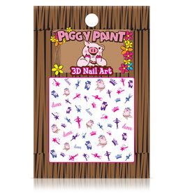 Piggy Paint 3-D Nail Art Dance