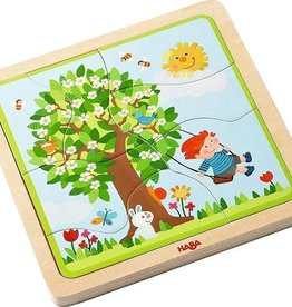 Haba My Time of Year- 4 Season Wood Puzzle