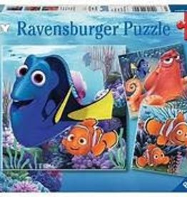 Ravensburger 49 pieces each Finding Dory (3 puzzles)