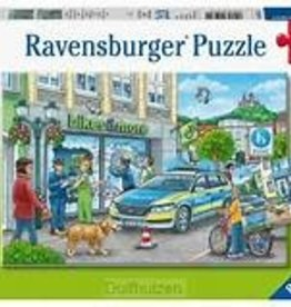 Ravensburger 24 piece each Police at Work! (2 puzzles)