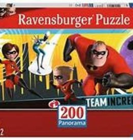 Disney Incredibles 200 pieces Puzzle