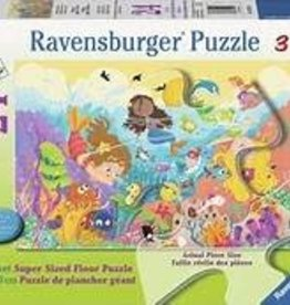 Ravensburger Splashing Mermaids Floor Puzzle 24 Piece
