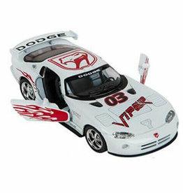Kinsmart Dodge Viper GTS-R White