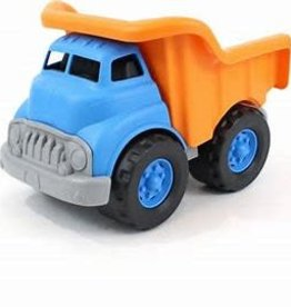Green Toys Dump Truck  Blue Orange