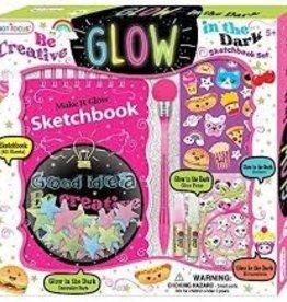 Hot Focus Glow in the Dark Sketchbook