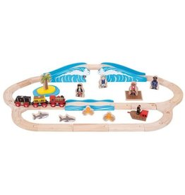 Big Jigs Pirate Train Set