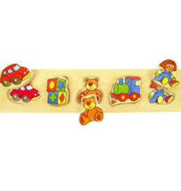 Big Jigs Chunky Lift and Match Toys Puzzle