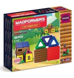 Magformers Log Cabin 48 Piece