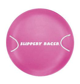 Slippery Racer Metal Saucer Sled Pink