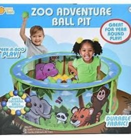 Sunny Days Entertainment Zoo Adventure Ball Pit