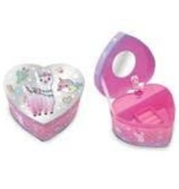 Hot Focus Heart Shaped Musical Jewelry Box Magical Friends
