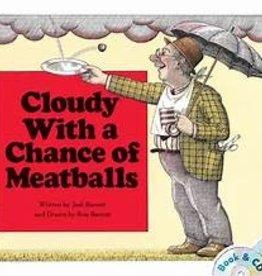 Simon and Schuster Cloudy with a Chance of Meatballs Book and CD