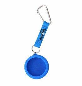 Crazy Aaron Mini Tin Bag Clip Blue