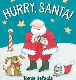 Simon and Schuster Hurry, Santa! by Tomie DePaola