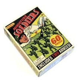Schylling Retro Mini Soldiers 60 Pack
