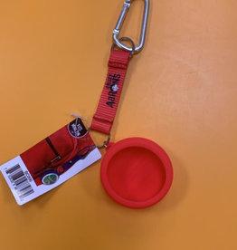 Crazy Aaron Mini Tin Bag Clip Red