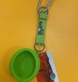Crazy Aaron Mini Tin Bag Clip Green