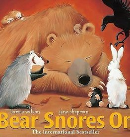 Simon and Schuster Bear Snores On Book