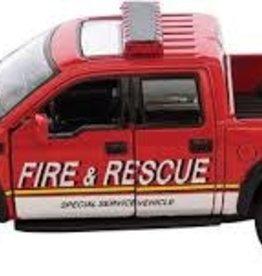 Kinsmart DC Ford Raptor Fire Rescue