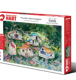 Hart Puzzles Feather Nest Heights 1000 peices