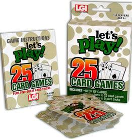 LGI Legendary Games Let's Play 25 Card Games