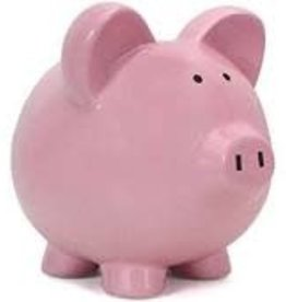 Child to Cherish Pink Piggy Bank
