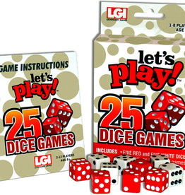 LGI Legendary Games Let's Play 25 Dice Games