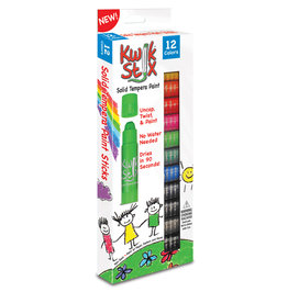 Kwik Stix Kwik Stix Tempura Paint 12 Classic Colors