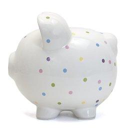 Child to Cherish Confetti Piggy Bank