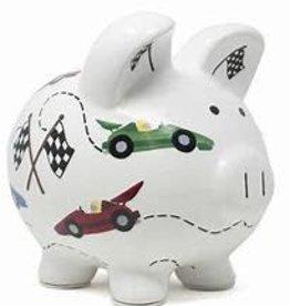 Child to Cherish Vroom Racer Piggy Bank