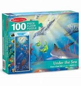 Melissa & Doug Under the Sea Floor (100 pc)