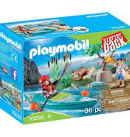 Playmobil Starter Pack Kayak Adventure 70035