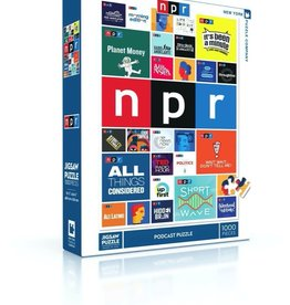 New York Puzzle NPR Podcast Puzzle 1000pcs