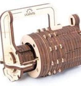 UGEARS Wooden Lock Model Kit