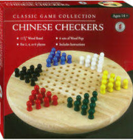John Hansen Chinese Checkers Wooden Peg