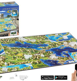 National Geographic 4D Puzzle Ancient Greece 600 pieces
