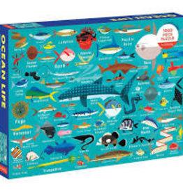 Mudpuppy 1000 piece Ocean Life