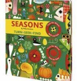 Twirl Seasons Turn, Seek and Find Book