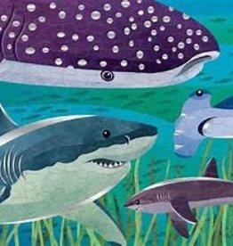 Mudpuppy 100 piece Foil Sharks
