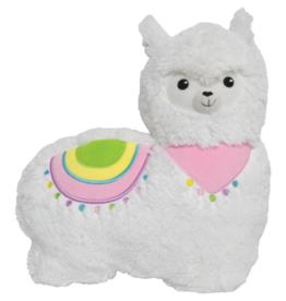 I Scream Llama Furry Embroidered Pillow