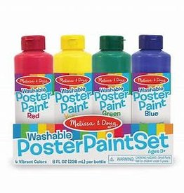 Melissa & Doug Poster Paint Set of 4